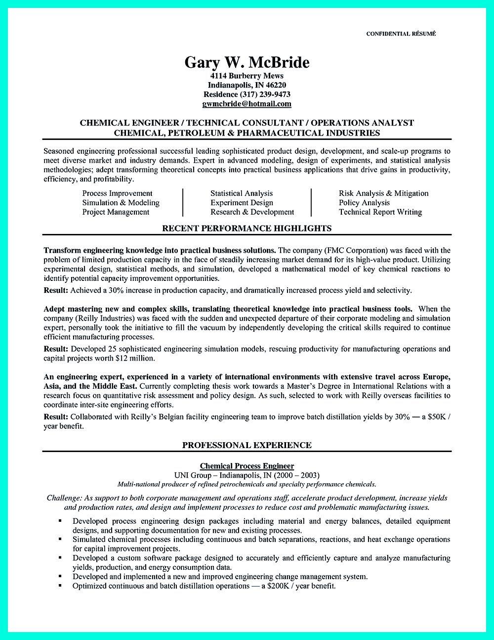 Ionic 3 Platform Resume Example