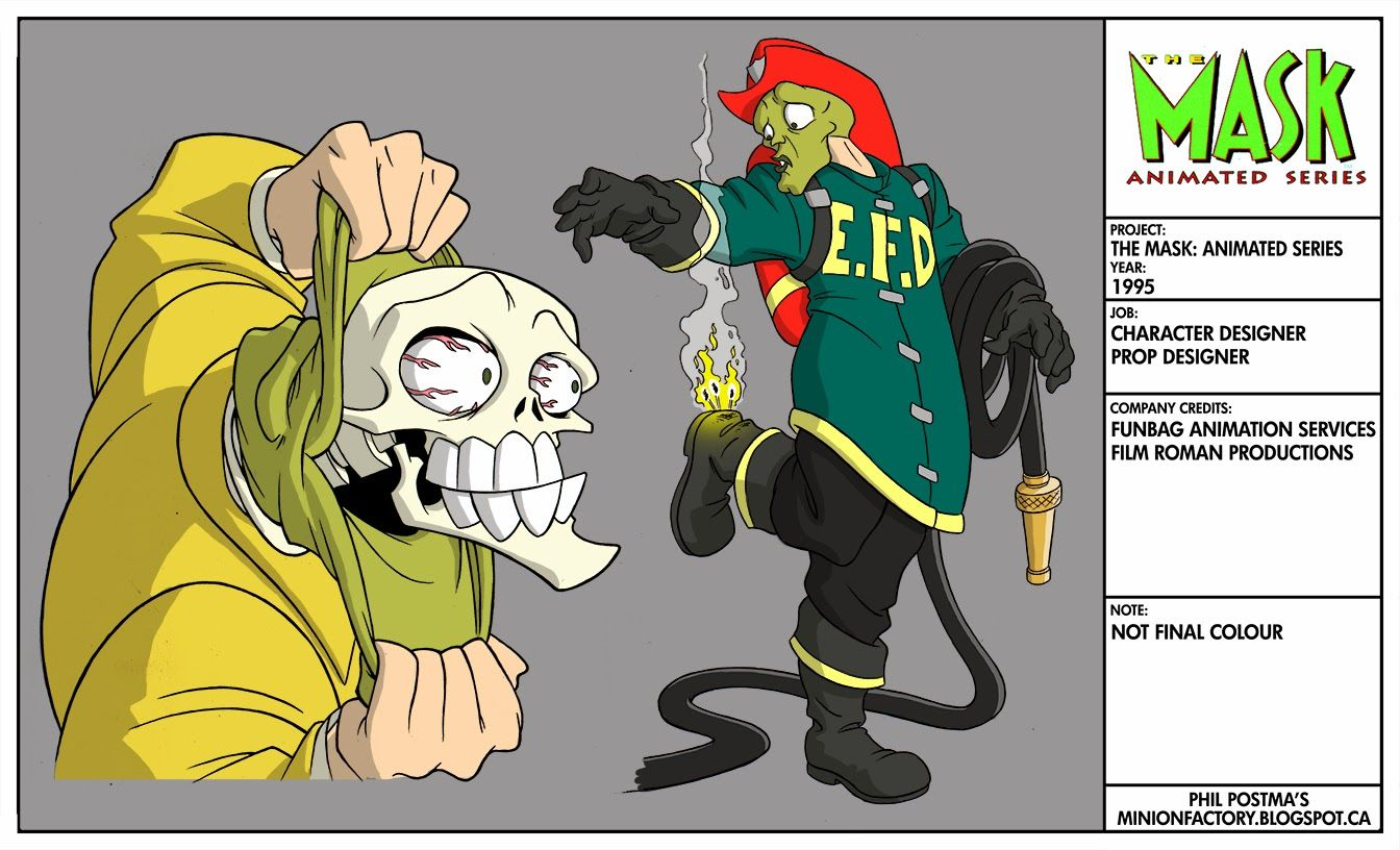 the mask animated series drawings in 2018 animation cartoon