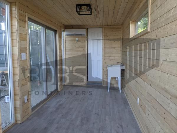 """Photo of 20 ft Container Home – """"The Dripping Springs"""" Model"""