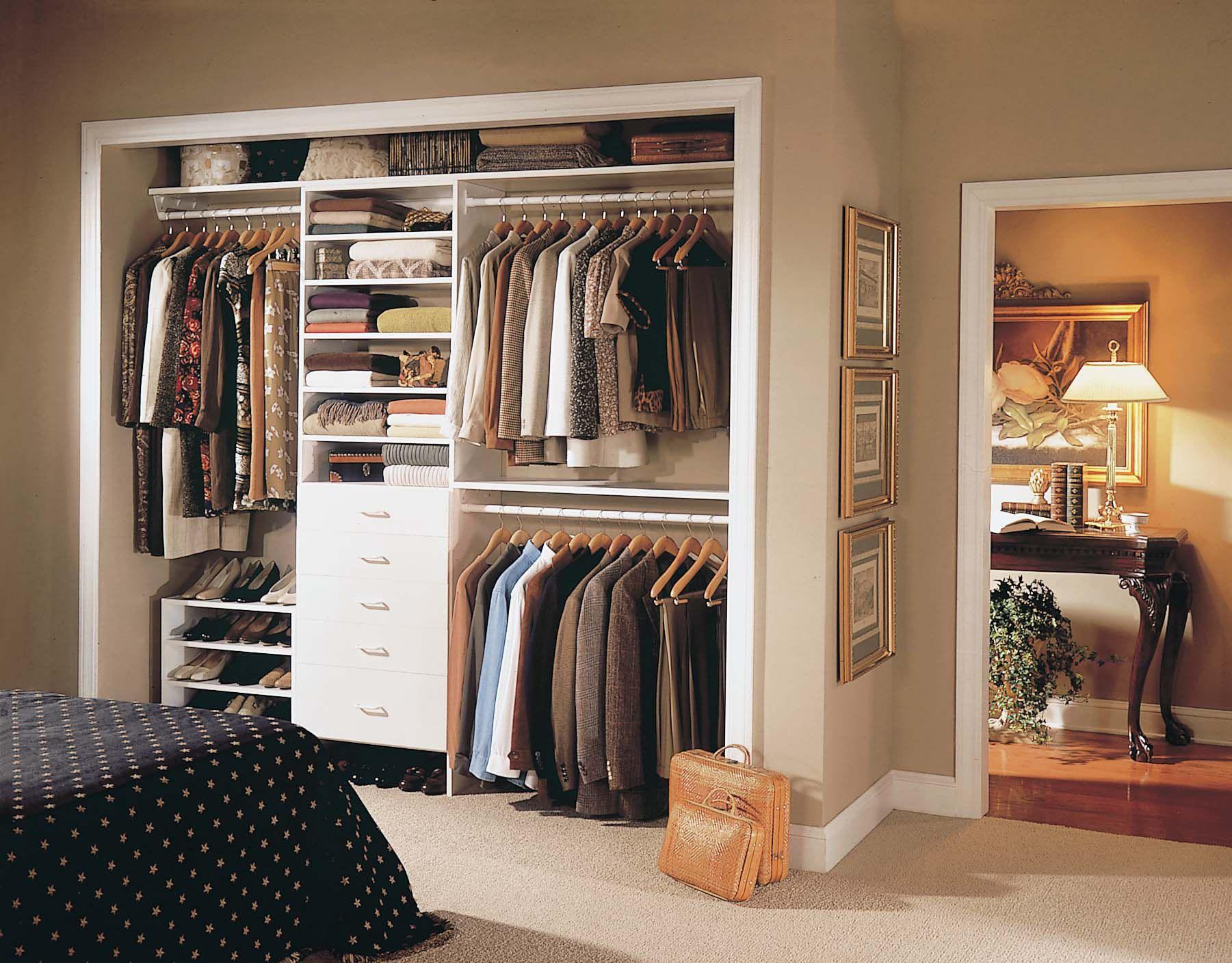 master bedroom closet - Closetmaid Design Ideas