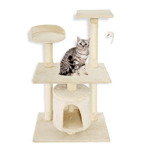 Cat Scratching Post Lean Firstwell Cat Tree Kitty Condo