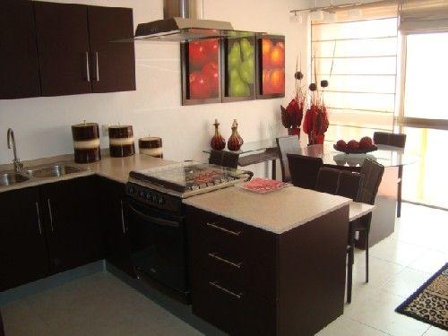 Decoración Minimalista y Contemporánea Decoración y estilos de - cocinas pequeas minimalistas