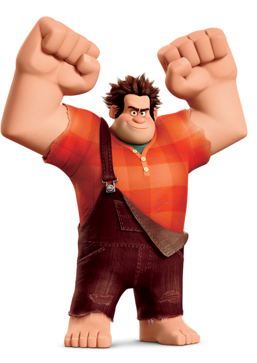 Day 5 Favourite Hero Wreck It Ralph Just Because He Is A Bad Guy