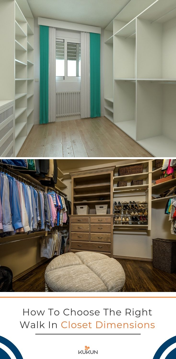 Tips on How to Choose the Right Walk in Closet Dimensions