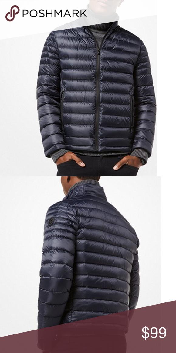 0b69c162f Michael Kors Mens Quilted Nylon Pack Down Jacket Michael Kors Mens ...