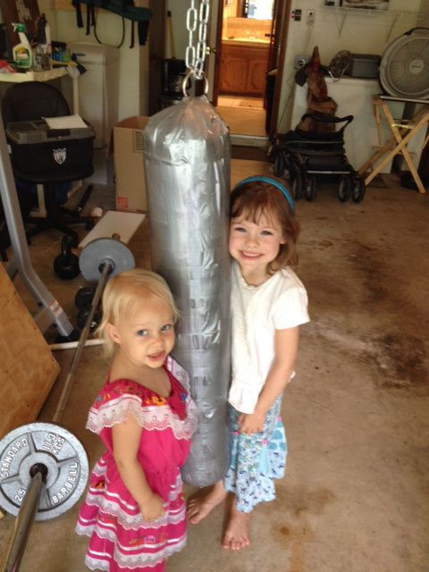 Make Your Own Kids Punching Bag For 10 Or Less Kid Stuff