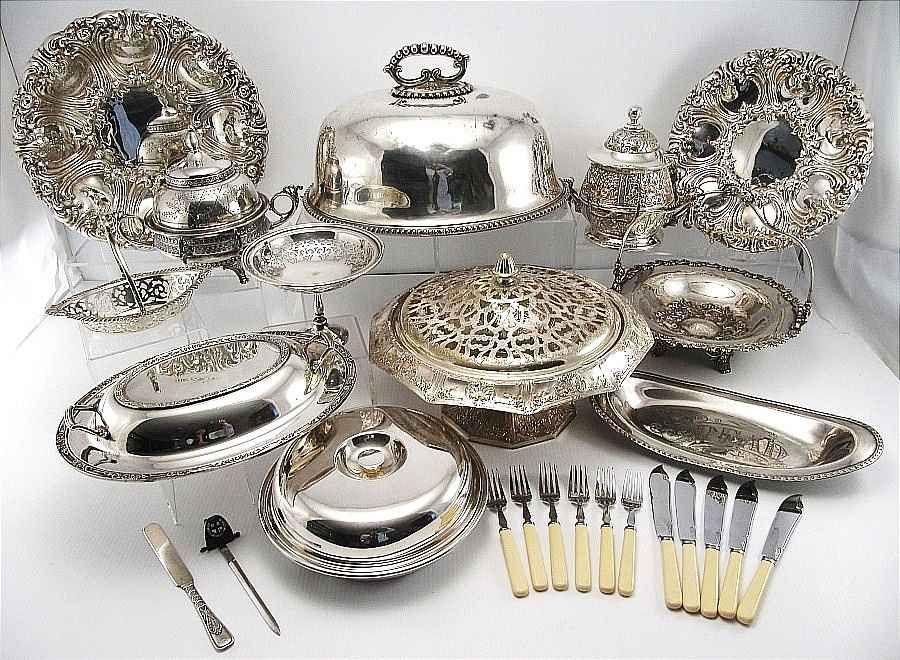 silver plate_hq Price Guide | Silver, Silver plate, Plates
