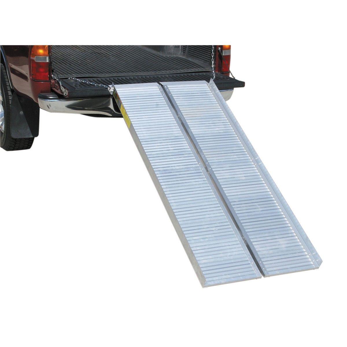 1200 Lb Capacity 30 1 4 In X 72 In Convertible Aluminum Loading
