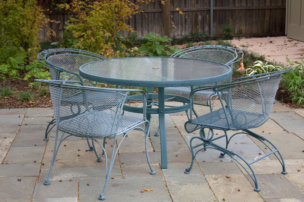 1950 S Outdoor Furniture Some Even Bounce Eisen Gartenmobel