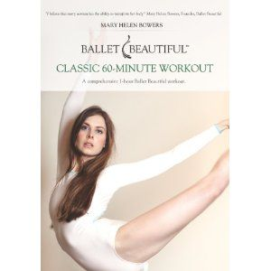 ballet beautiful. exercise video.