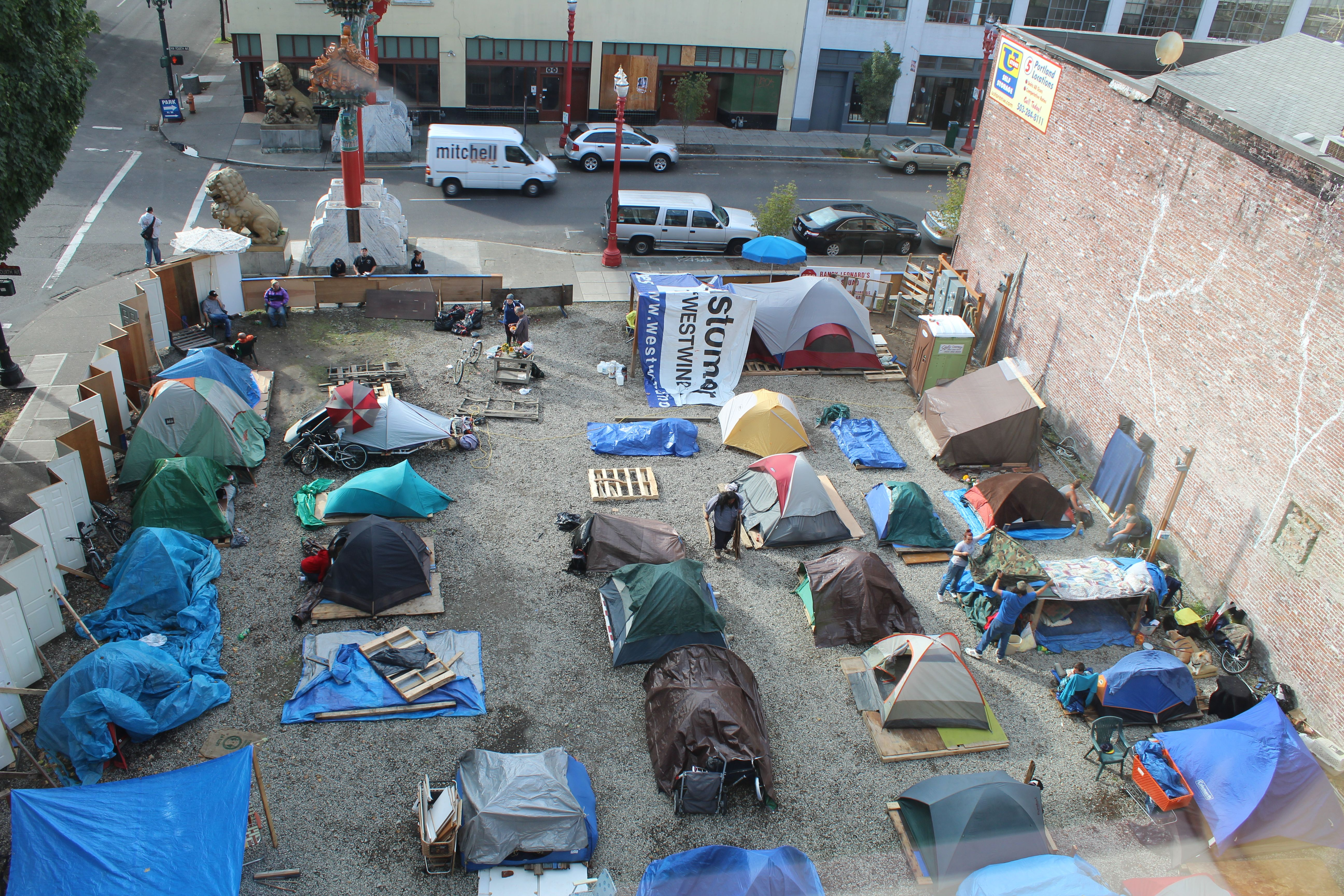 Occupy Portland Sends Open Letter To City Officials In Support Of Homeless Homeless Homeless People Supportive