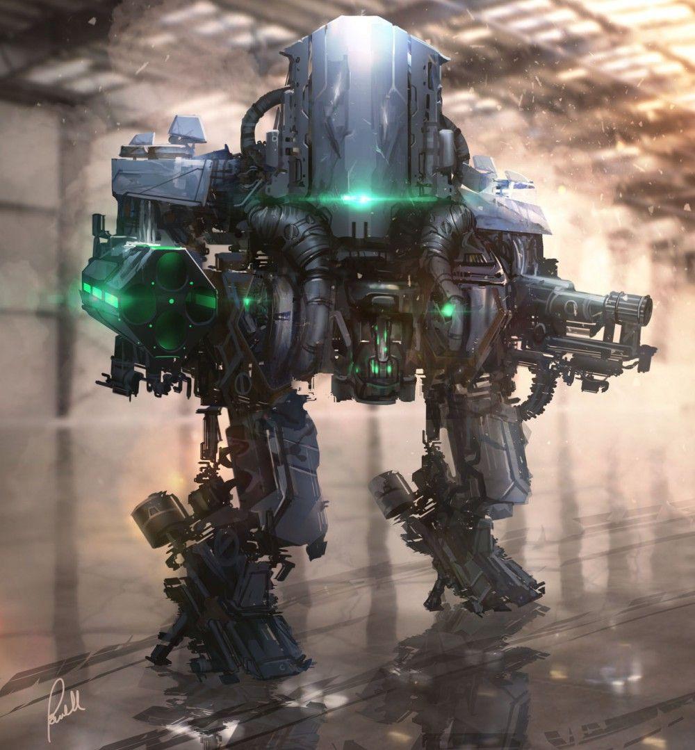 Космический боевой робот картинки