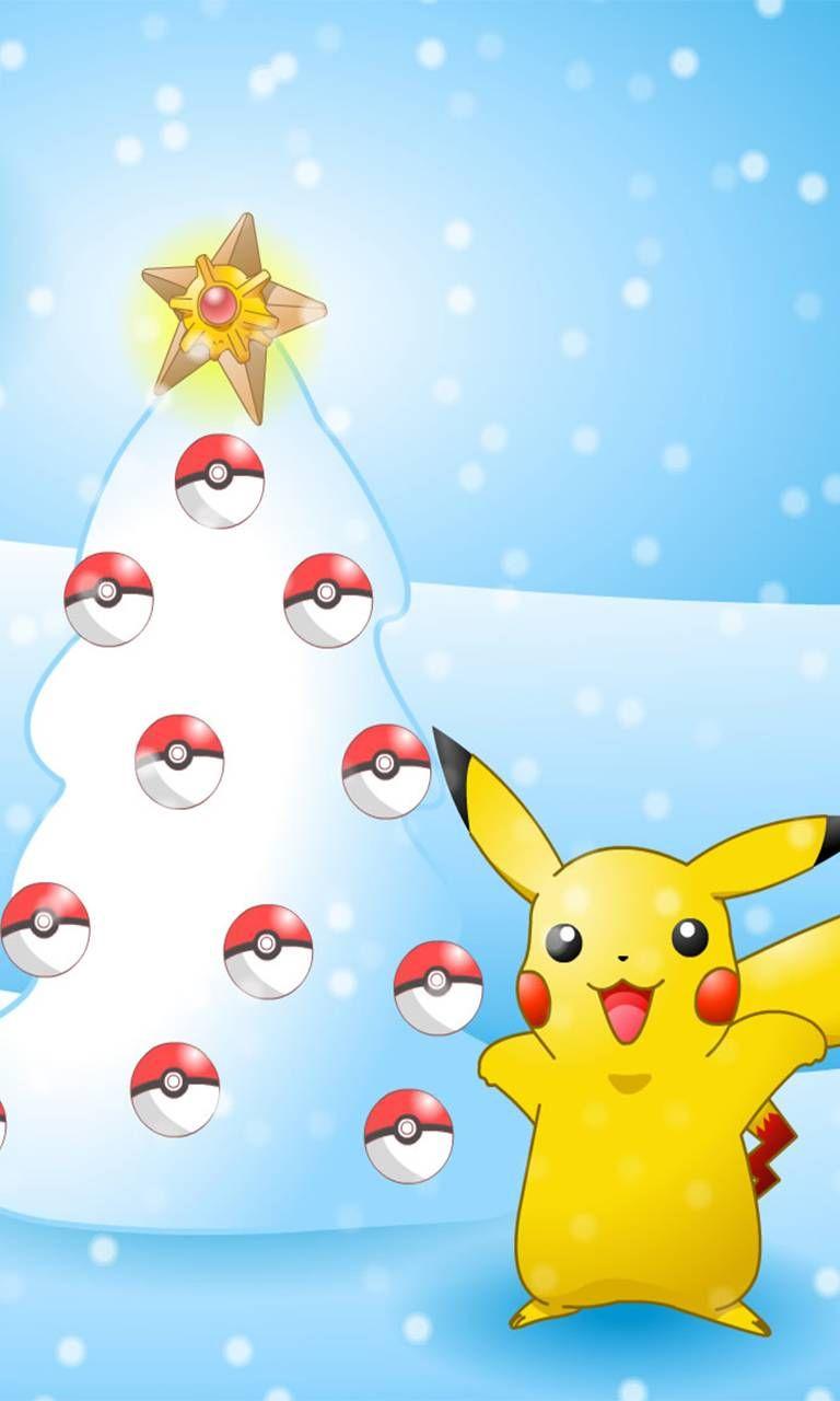 Download Christmas Pokemon Wallpaper by Samanddean08 99