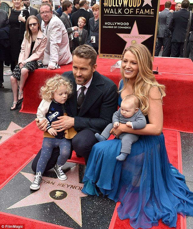 Ryan Reynolds dotes on Inez as he carries toddler to the