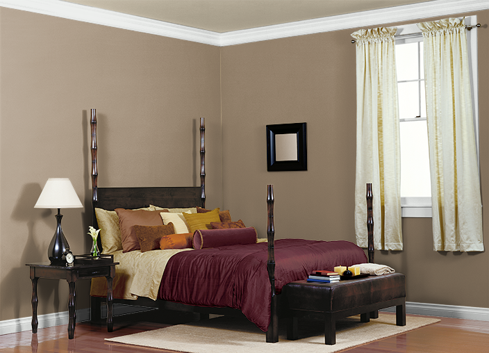 This Is The Project I Created On Behr Used These Colors TOFFEE CRUNCH700D 5NATURAL CHAMOISHDC NT 16SOFT BRONZEHDC 28
