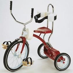 Adapted Tricycle Accessory Upright Handlebars