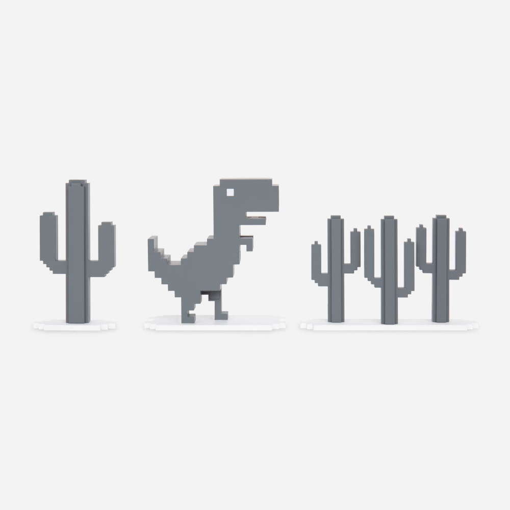 Chrome Dino (also known as T-Rex Game, or the NO INTERNET ...