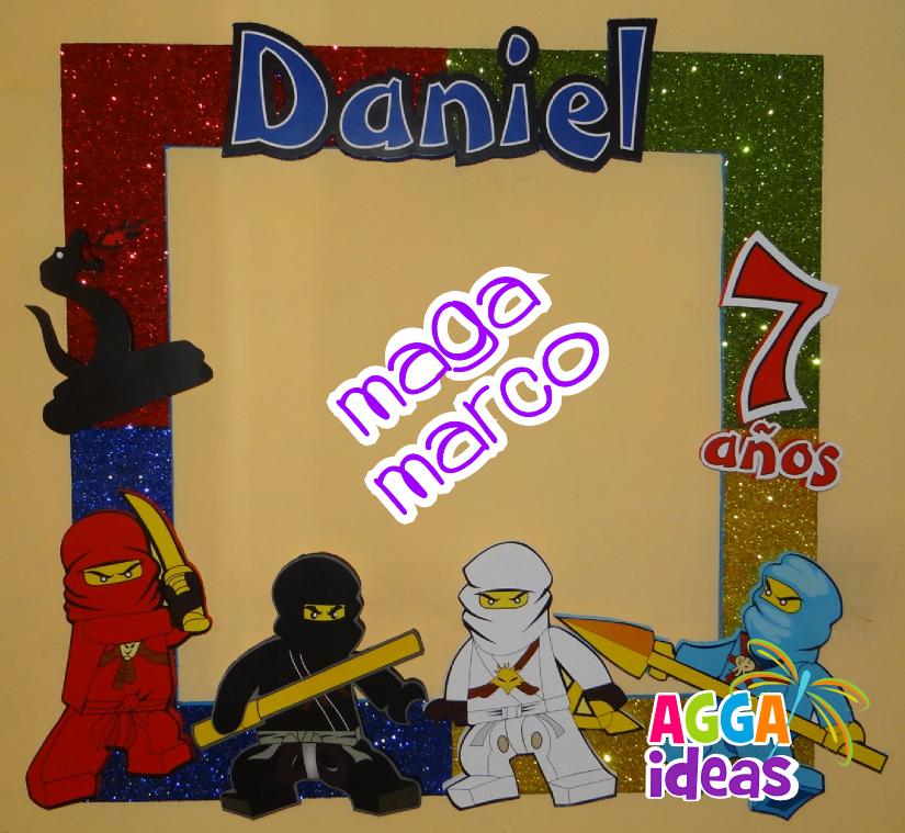 Mega marco Ninjago | Kid\'s Room | Pinterest | Marcos, Artesanias en ...