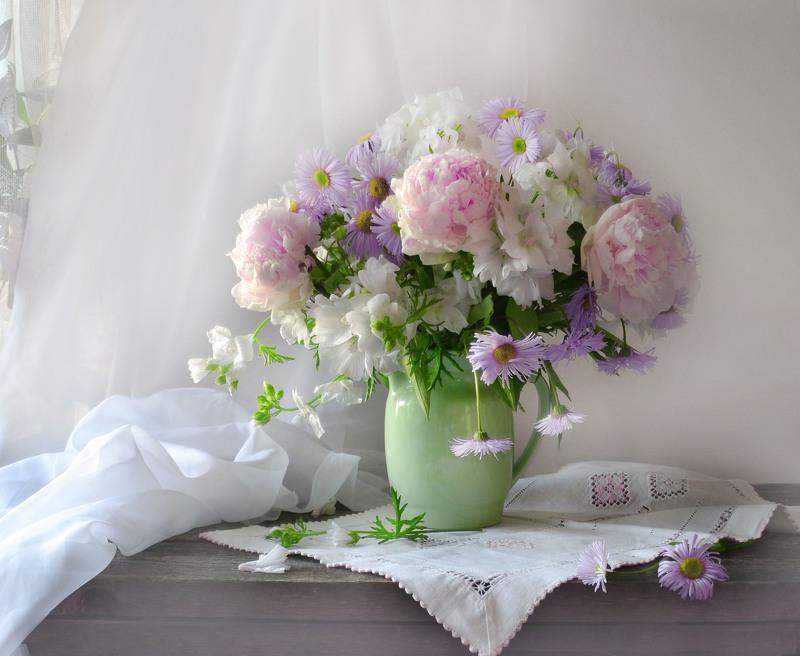 последние картинки нежные цветы с пожеланиями салат