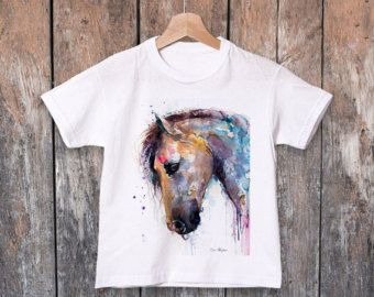 Pug T-shirt, Unisex T-shirt, ring spun Cotton 100%, watercolor print T shirt, T shirt art, T shirt animal, XS, S, M, L, XL, XXL