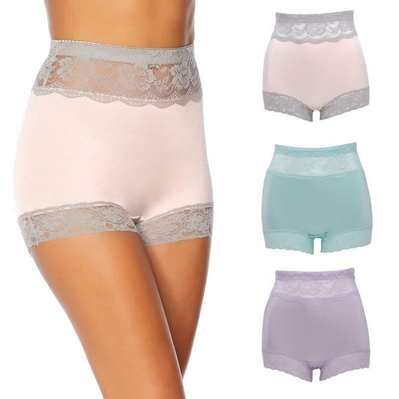 19a673539f28 eBay Ad) Rhonda Shear 3-pack Pin Up Panty Set-Pastels-Medium-New-2 ...