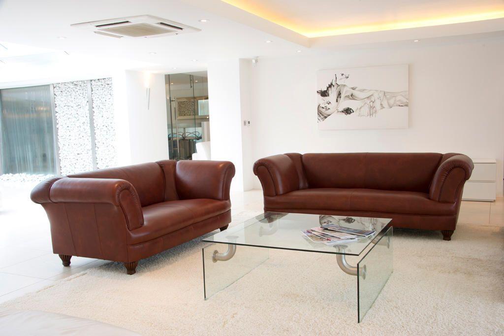 Sofa Klassisch chesterfield sofas chatsworth in klassisch braunem leder
