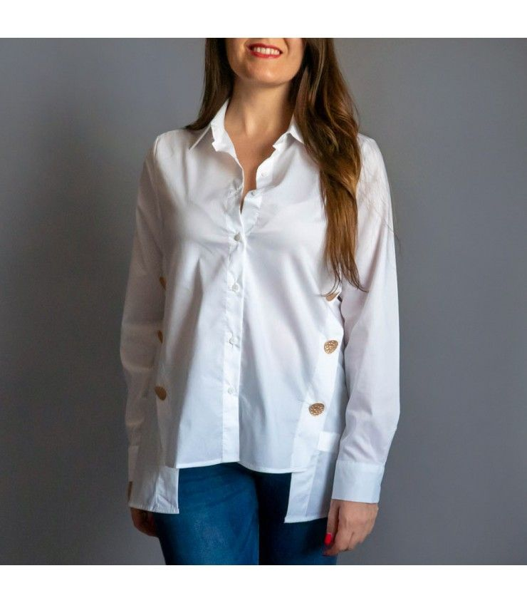 CAMISA BOTONES AITANA en 2020   Camisas, Camisas elegantes
