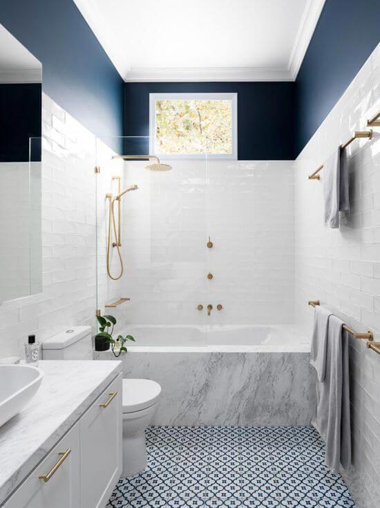 Photo of Penny Fliesen Badezimmerboden Ideen für stilvolle Badezimmer Wände und Böden. Stilvolle …