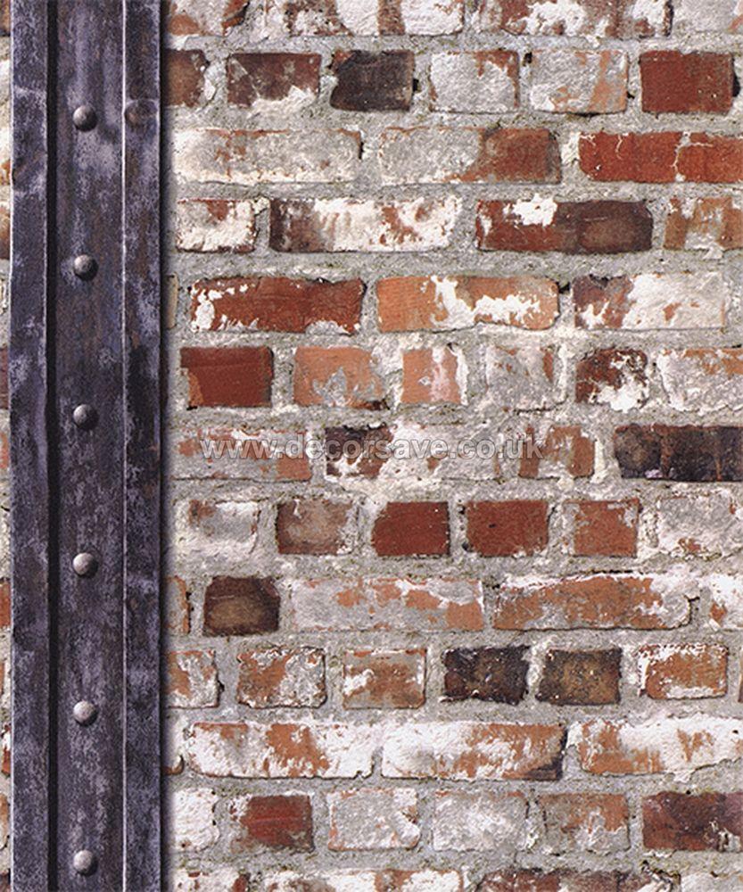 muriva loft brick with beam
