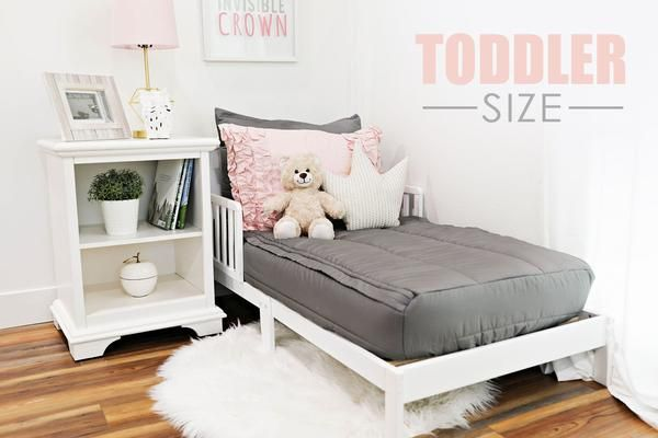 Modern Gray Toddler (Minky) (Sold out, coming June-July)