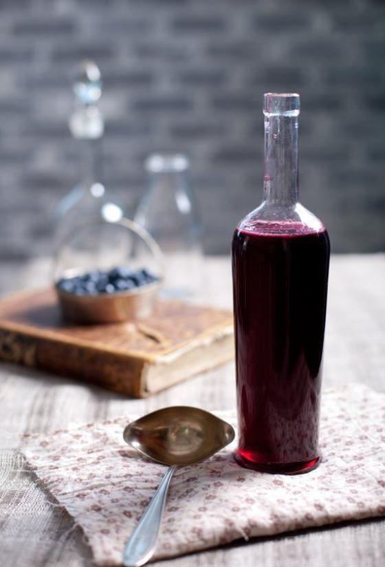 homemade blueberry wine recipe