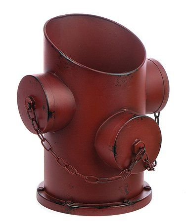 Another Great Find On Zulily Tin Fire Hydrant Planter