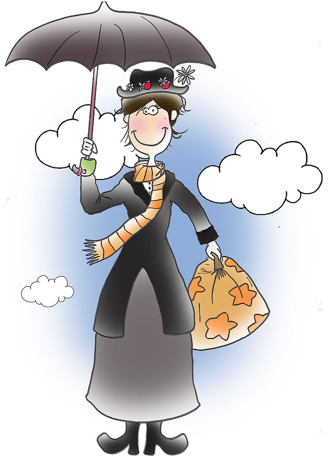 Supercalifragilisticexpialidocious Madame Reve Dibujos Paraguas Dibujos Animados Personajes Dibujos Animados