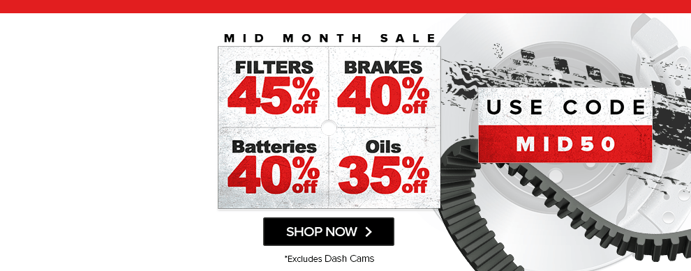 Mid Season Sale Is Now On At Euro Car Parts Use Code Mid50 For