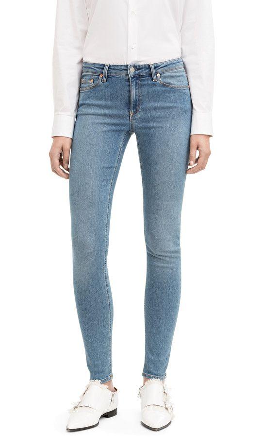 701e036f79 Acne Studios Skin 5 Mid Vtg Skinny five pocket jeans