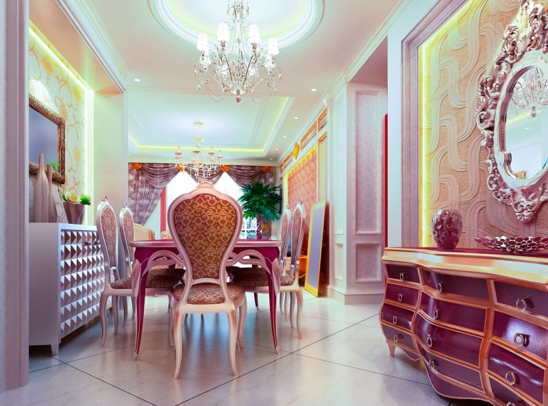 Ambiance kitch rétro, design avec un mélange de meubles très - meuble en fer design