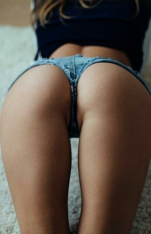 Sexy Ass In Excepting Shorts