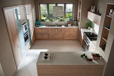 cuisine schmidt : 12 cuisines en bois, ouvertes sur le salon ... - Evier Cuisine Schmidt