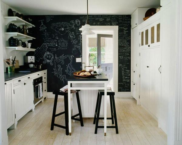 Schoolbordverf De Keuken : Schoolbordverf krijtbordverf keuken krijtbord