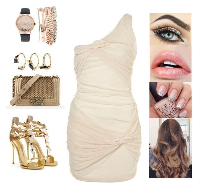 """""""Untitled #4926"""" by sigalv ❤ liked on Polyvore featuring Topshop, Chanel, Jessica Carlyle and Noir Jewelry"""