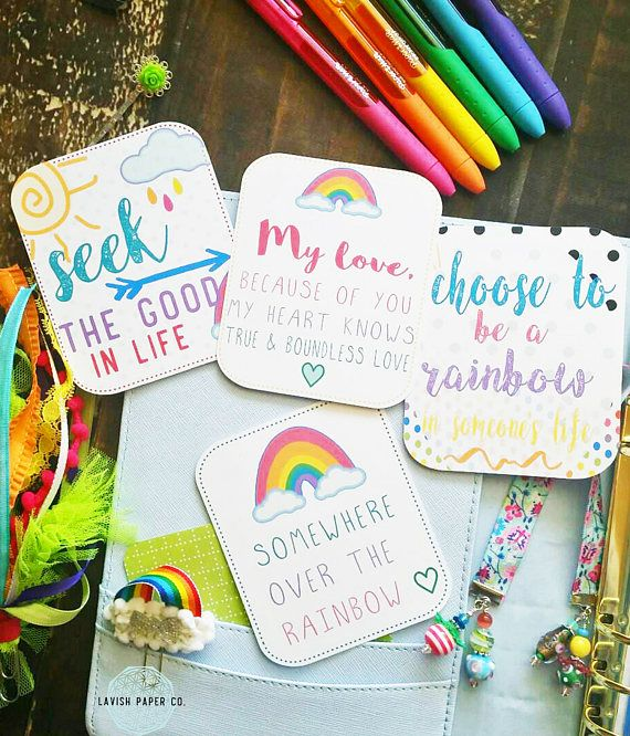 Hey, I found this really awesome Etsy listing at https://www.etsy.com/listing/509829664/rainbows-in-the-air-quote-journal-cards