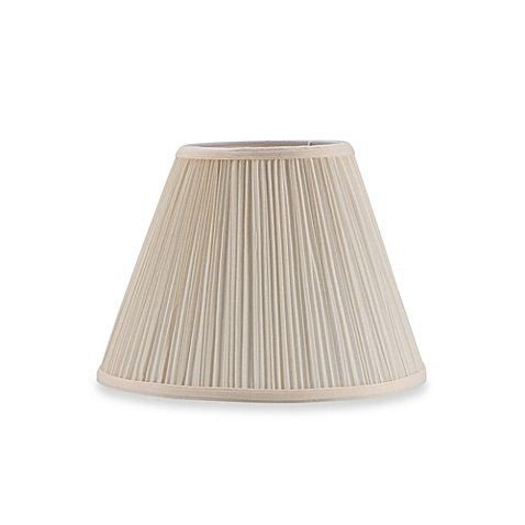 Upgradelights 10 Inch Pleated Empire Clip On Replacement Lampshade Cream Lamp Shade Lamp Wall Light Shades