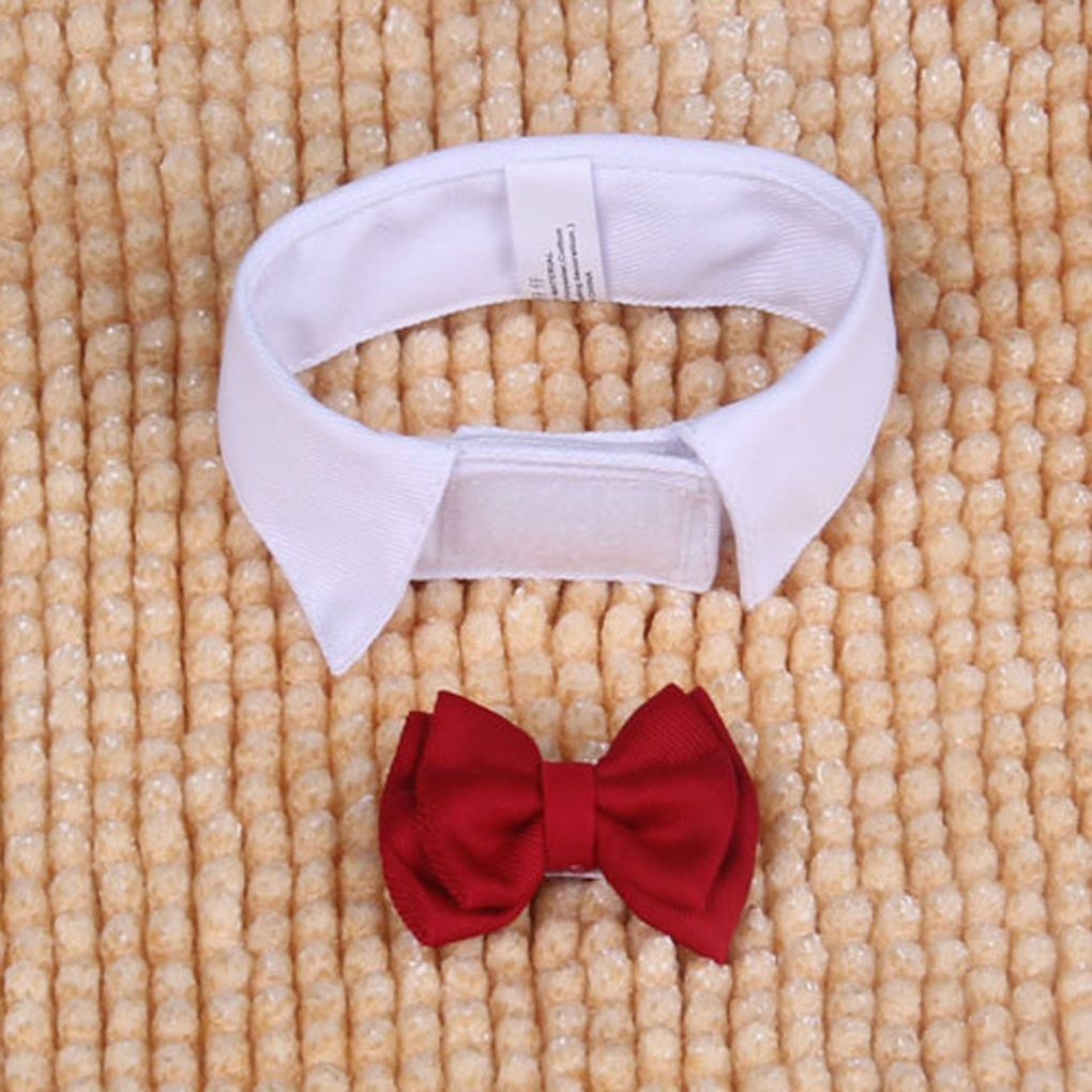 New Elegant Cute Dog Puppy Cat Fashion Bowknot Bow Tie Necktie Clothes Small Dog