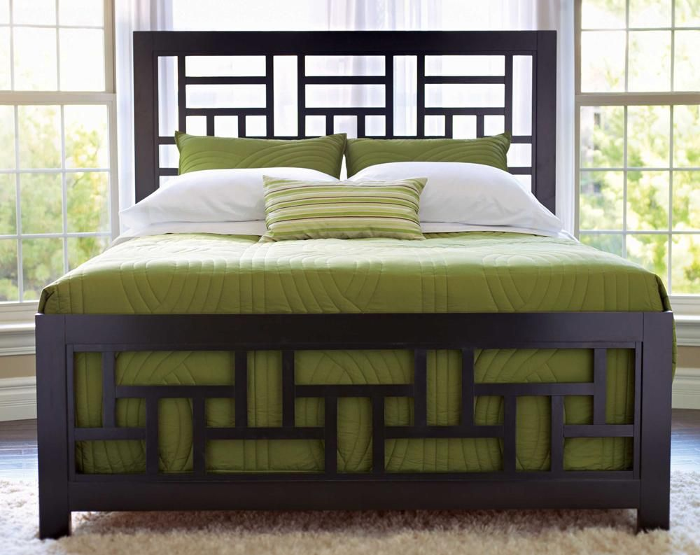 broyhill furniture perspectives king lattice bed bedrooms