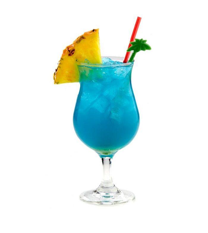 The Blue Hawaii Cocktail Recipe Blue Hawaii Cocktail Hawaiian Drinks Blue Hawaii Drink