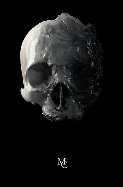 wet skull