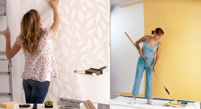What Would Bob Do Wallpaper Vinyl Siding And Asbestos Painting Furniture Diy Vinyl Siding Home Diy