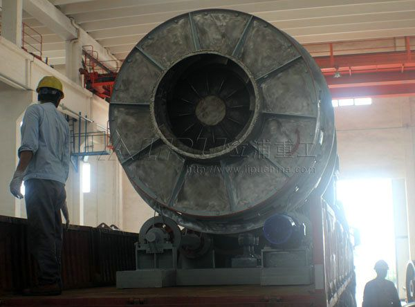 stainless steel three-cylinder rotary dryer
