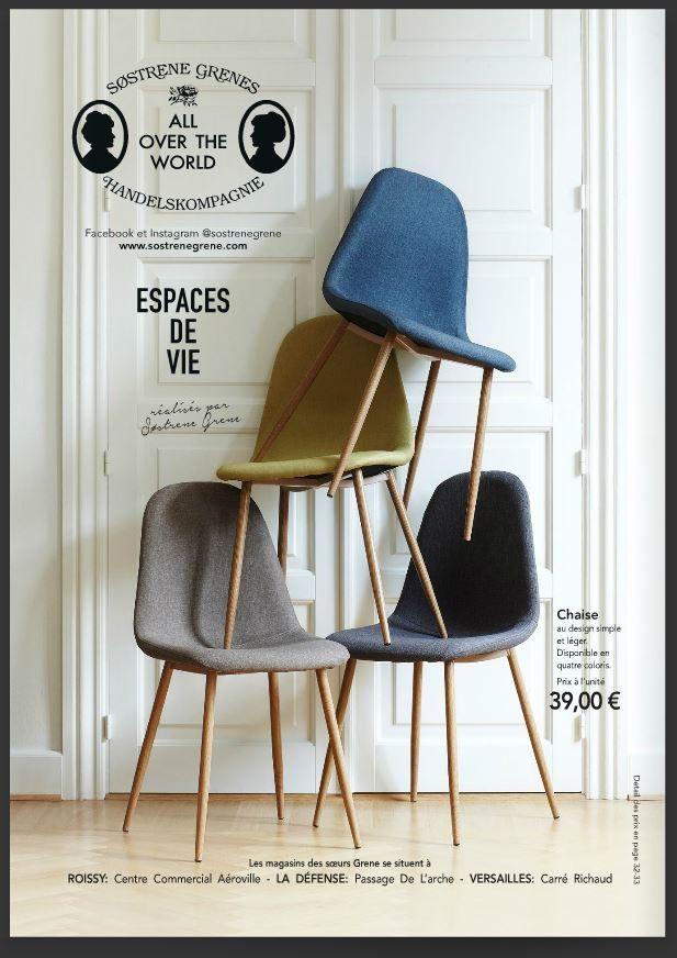 sostrene grenes chaise pour mon bureau eldh s pinterest salons and decoration. Black Bedroom Furniture Sets. Home Design Ideas