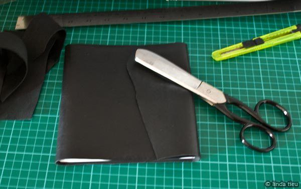 Happy hump day to everyone! I've dabbled and postedabout bookbinding, making journals and my little black books from leather. I decided to try making a slightly larger black leather journal to see if the flexible leather as a cover would bother me when larger. The process of bookbinding is the same for any kind of …